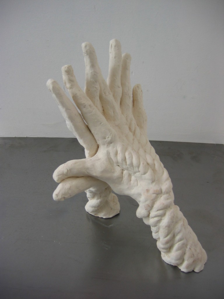 Against, 2007, ceramic