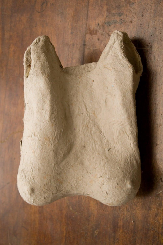 Paper Bag, 35 cm x 25 cm x 9 cm, Papier fait à main