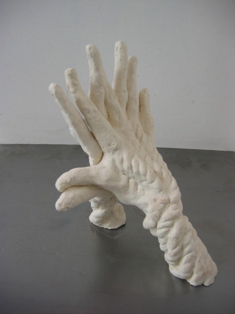 Against, 2007, ceramic