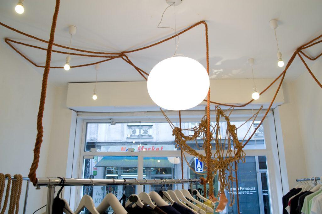 2008 La Corde, Galerie Korczynski, Paris, France