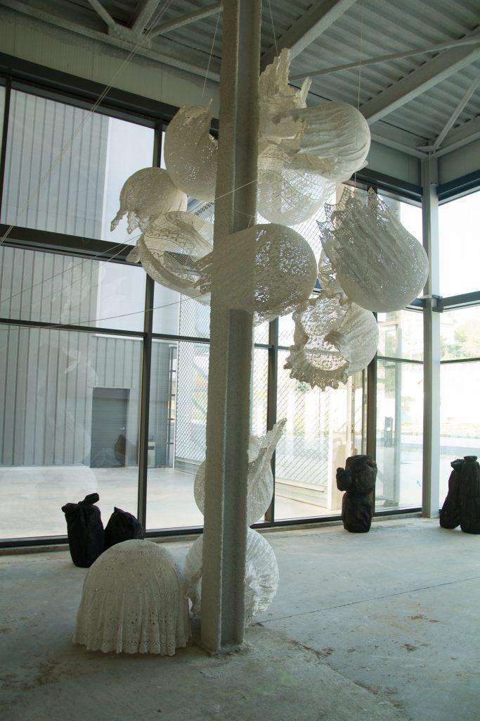 2019 Raw Materials, Hall in One Novaciéries, Saint-Chamond (Biennale Internationale Design Saint-Étienne), France